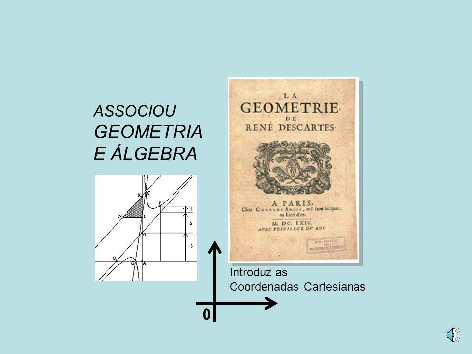 ASSOCIOU GEOMETRIA E ÁLGEBRA