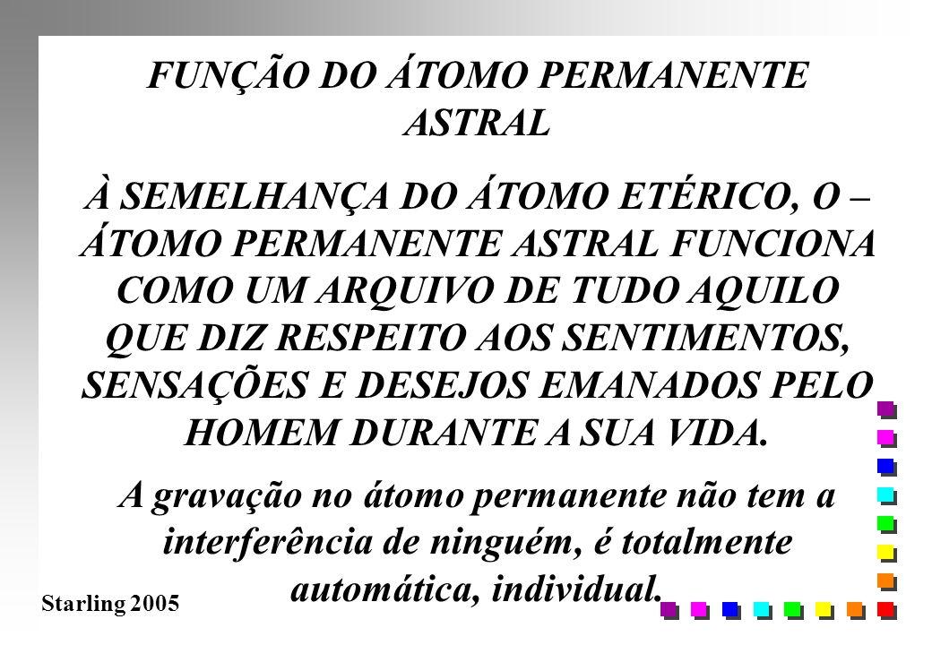 FUNÇÃO DO ÁTOMO PERMANENTE ASTRAL