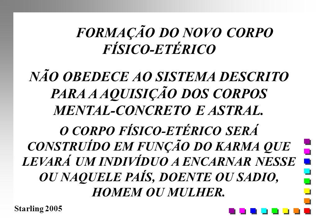 FORMAÇÃO DO NOVO CORPO FÍSICO-ETÉRICO