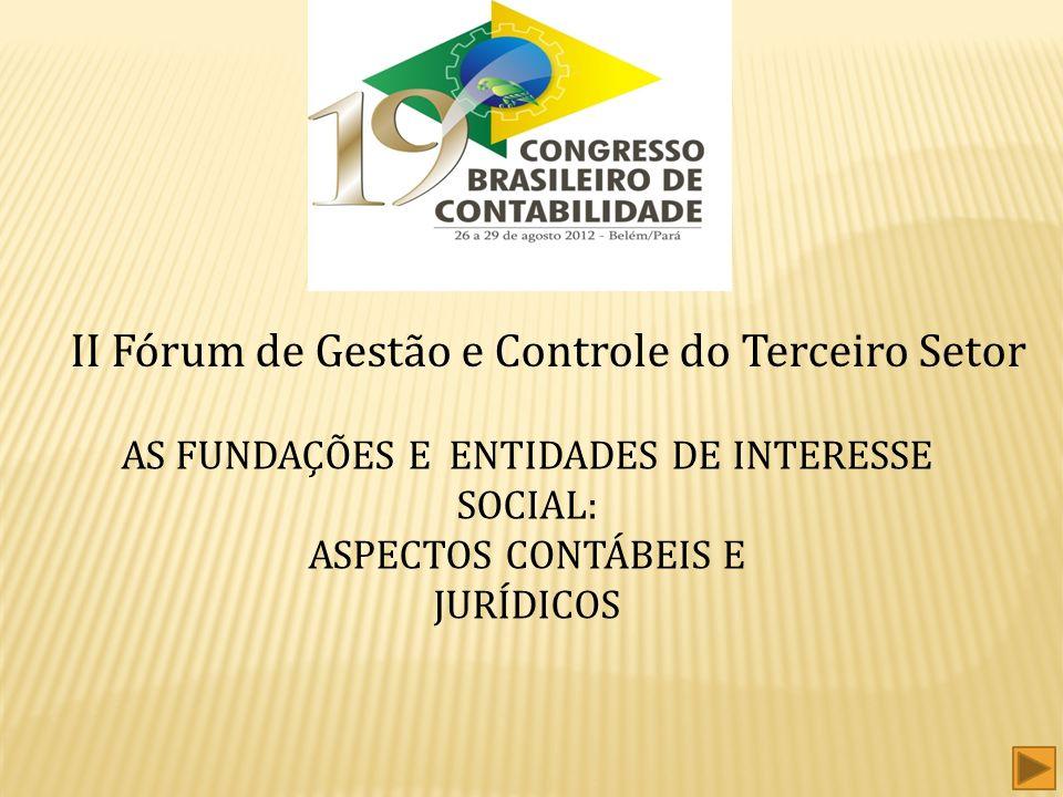 II Fórum de Gestão e Controle do Terceiro Setor