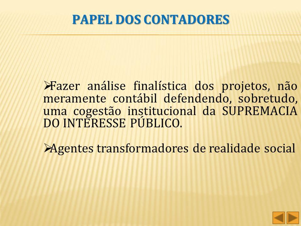 PAPEL DOS CONTADORES