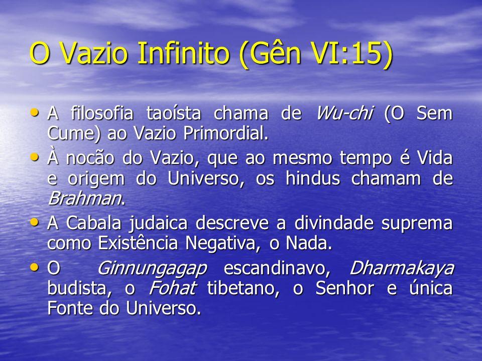 O Vazio Infinito (Gên VI:15)