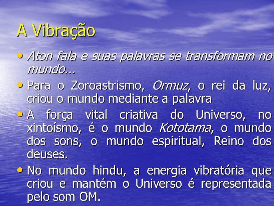 A Vibração Aton fala e suas palavras se transformam no mundo...