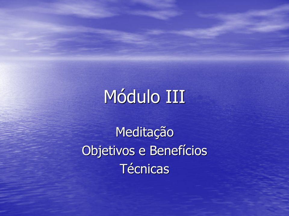 Meditação Objetivos e Benefícios Técnicas
