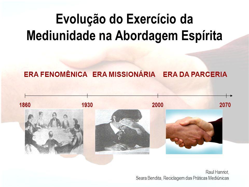 Evolução do Exercício da Mediunidade na Abordagem Espírita