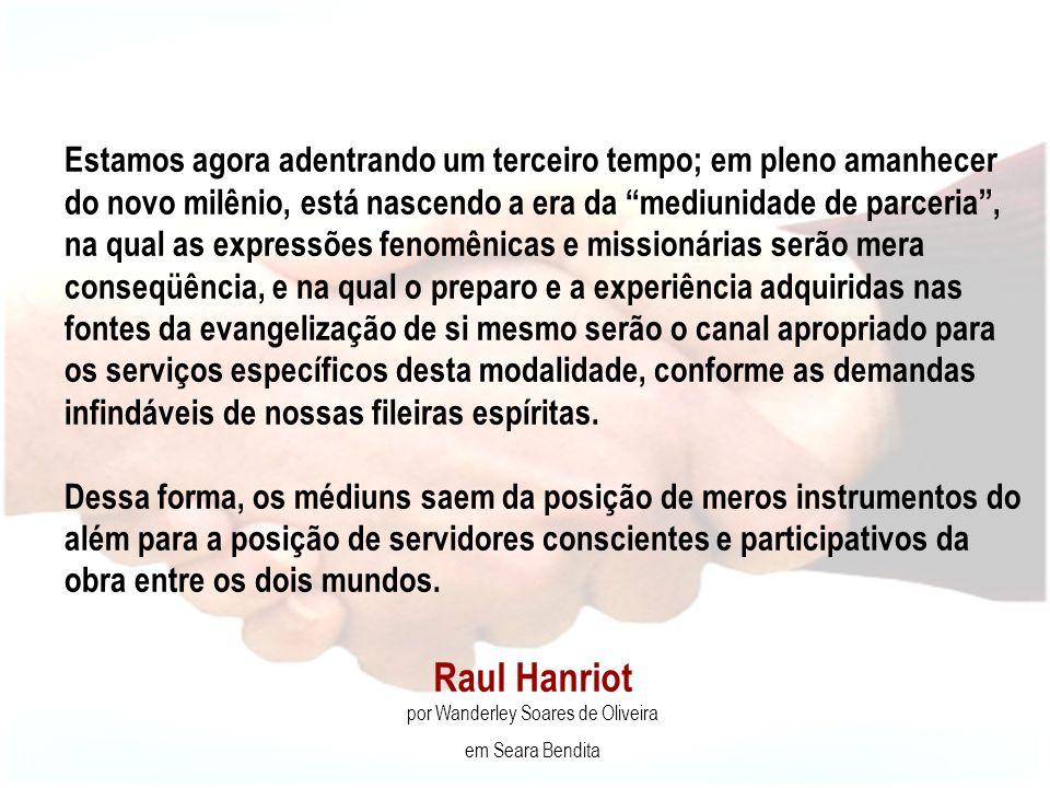 Raul Hanriot por Wanderley Soares de Oliveira