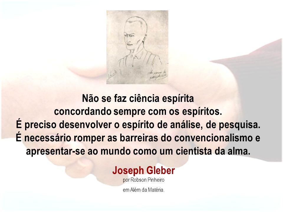 Joseph Gleber por Robson Pinheiro