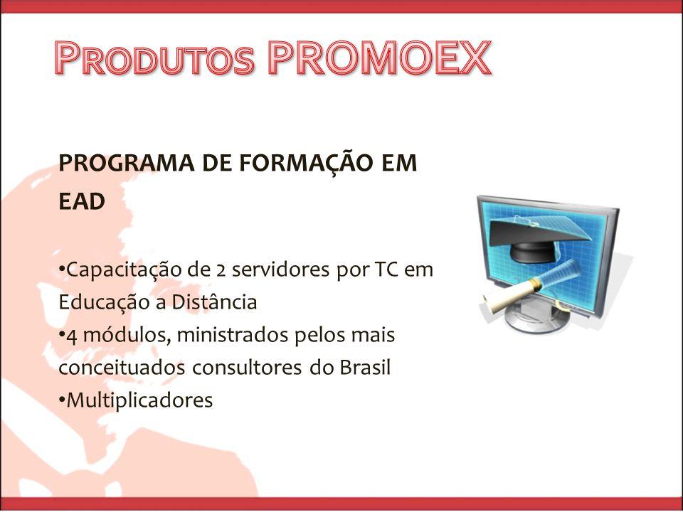 Produtos PROMOEX PROGRAMA DE FORMAÇÃO EM EAD