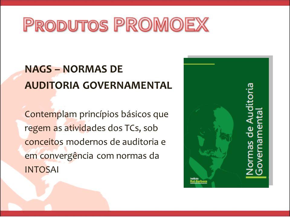 Produtos PROMOEX NAGS – NORMAS DE AUDITORIA GOVERNAMENTAL