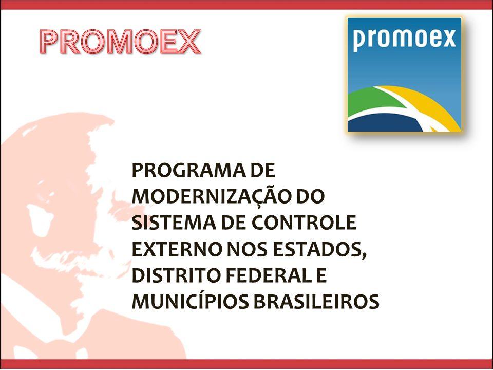 PROMOEX PROGRAMA DE MODERNIZAÇÃO DO SISTEMA DE CONTROLE EXTERNO NOS ESTADOS, DISTRITO FEDERAL E MUNICÍPIOS BRASILEIROS.