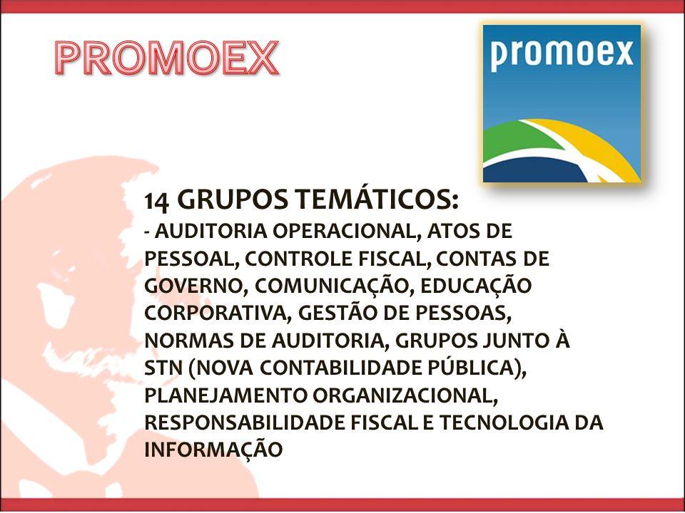 PROMOEX 14 GRUPOS TEMÁTICOS: