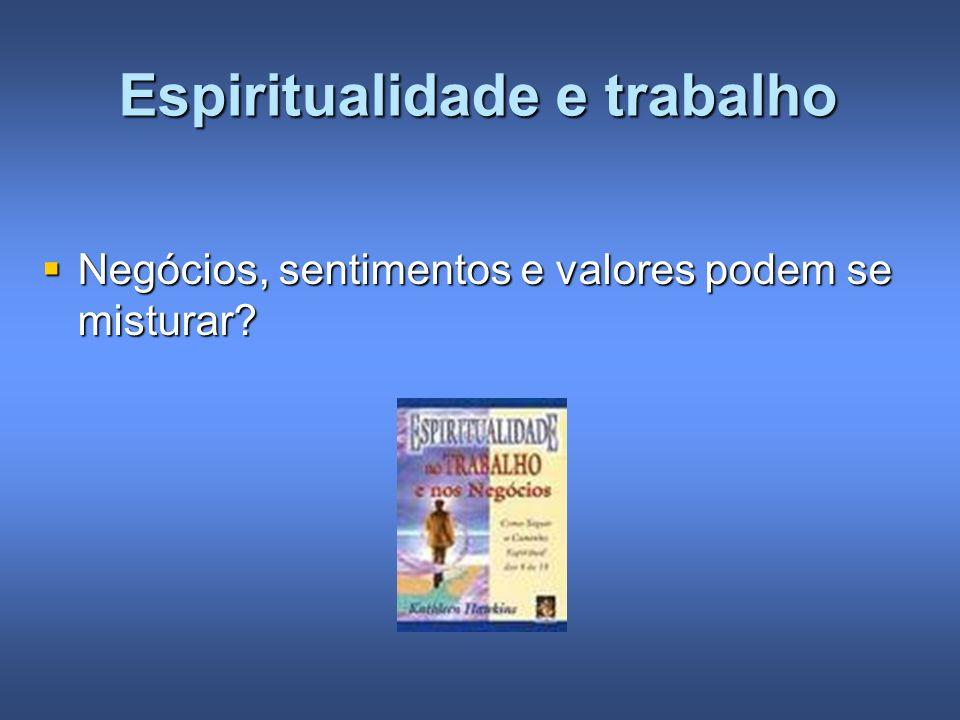 Espiritualidade e trabalho