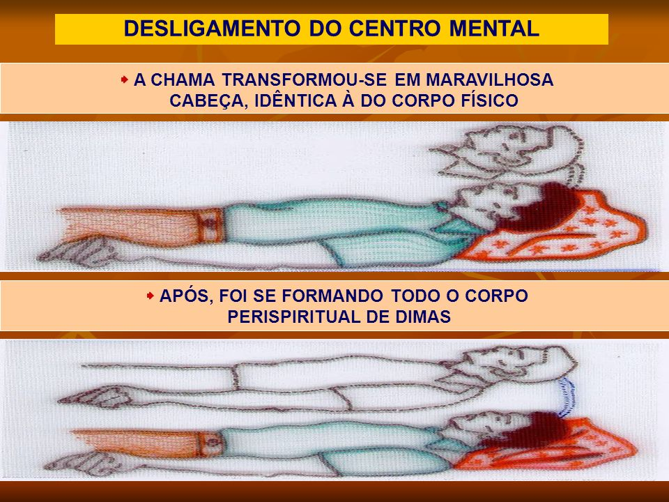 DESLIGAMENTO DO CENTRO MENTAL