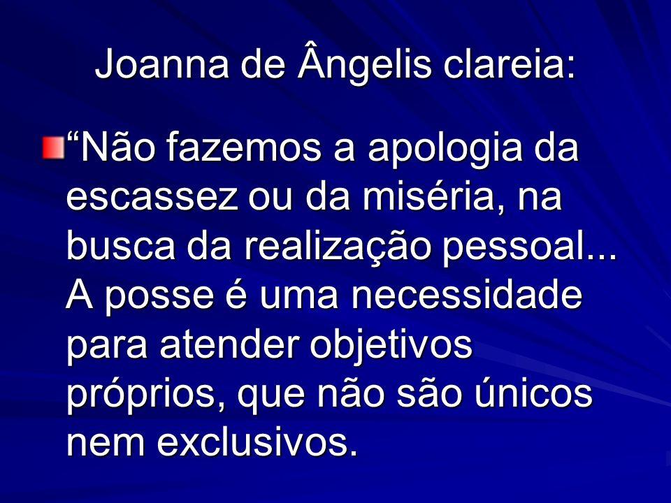 Joanna de Ângelis clareia: