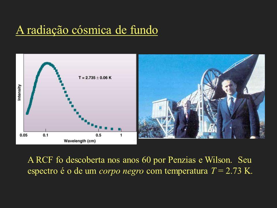A radiação cósmica de fundo