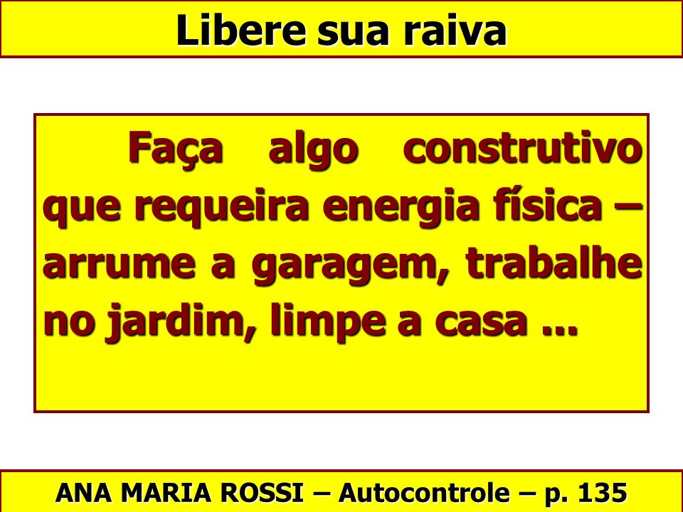 ANA MARIA ROSSI – Autocontrole – p. 135