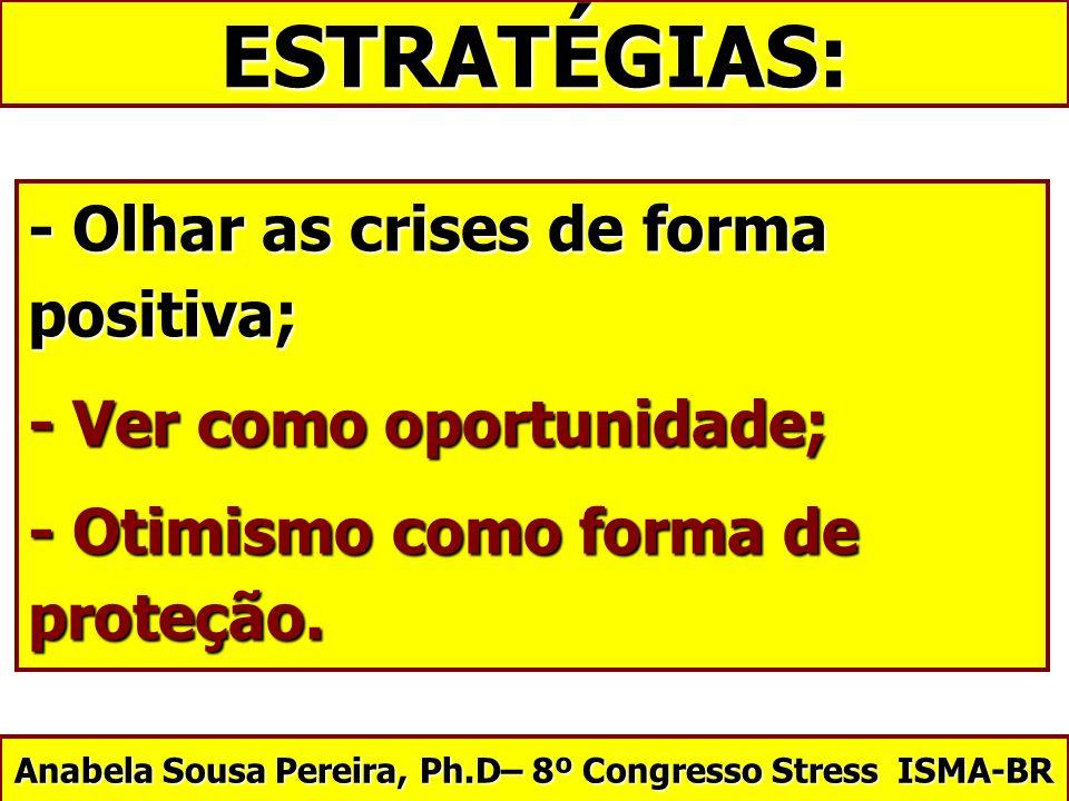 Anabela Sousa Pereira, Ph.D– 8º Congresso Stress ISMA-BR