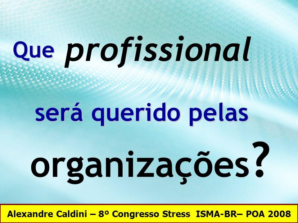 Alexandre Caldini – 8º Congresso Stress ISMA-BR– POA 2008