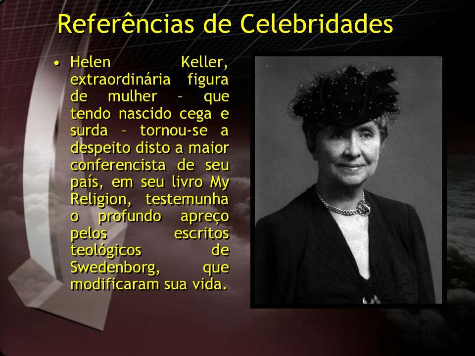 Referências de Celebridades