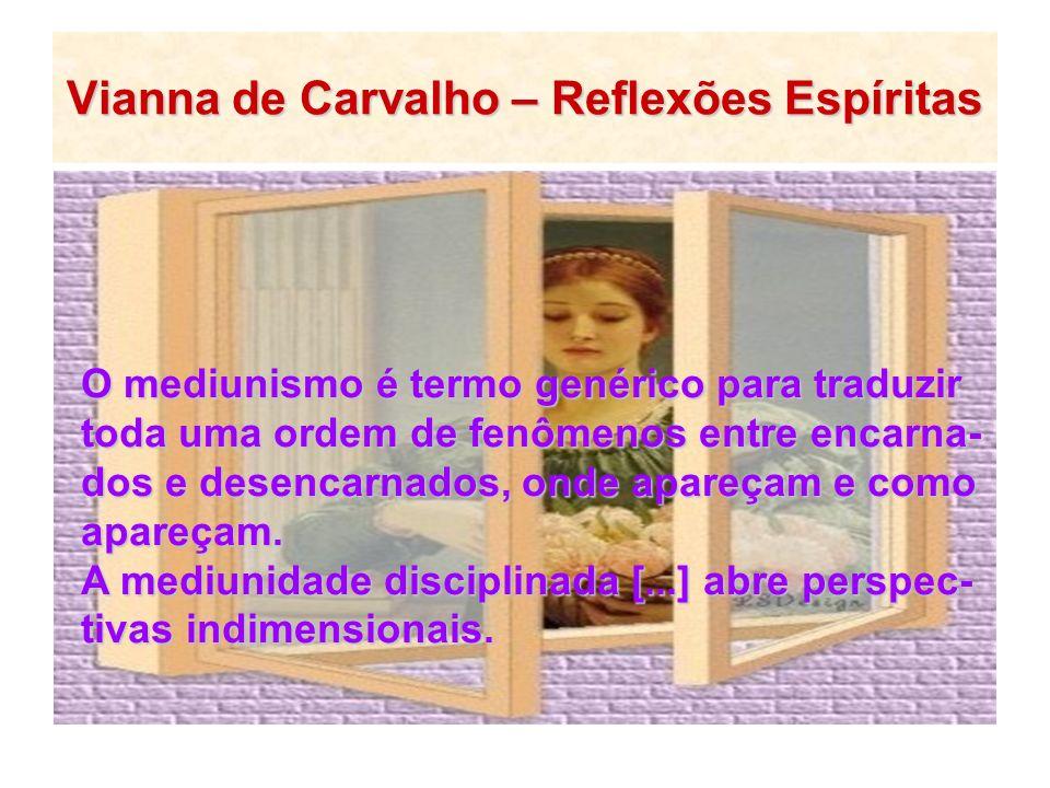 Vianna de Carvalho – Reflexões Espíritas
