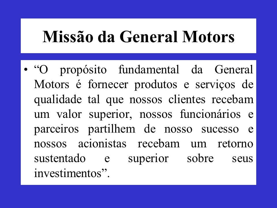 Missão da General Motors