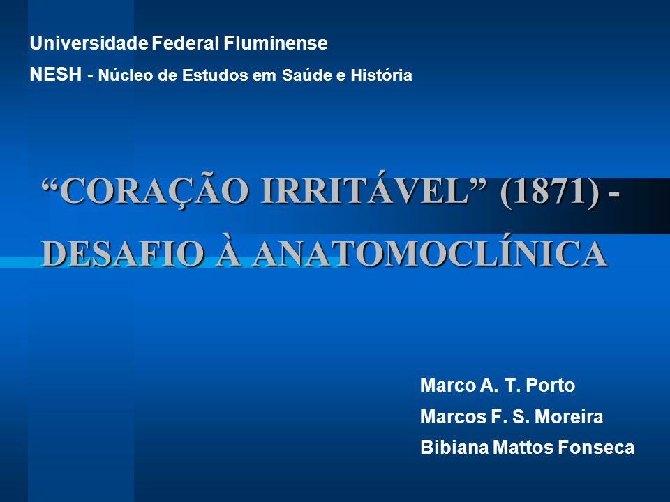 CORAÇÃO IRRITÁVEL (1871) - DESAFIO À ANATOMOCLÍNICA