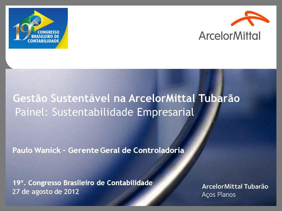 Gestão Sustentável na ArcelorMittal Tubarão