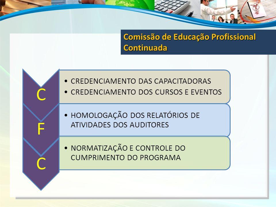 C F Comissão de Educação Profissional Continuada