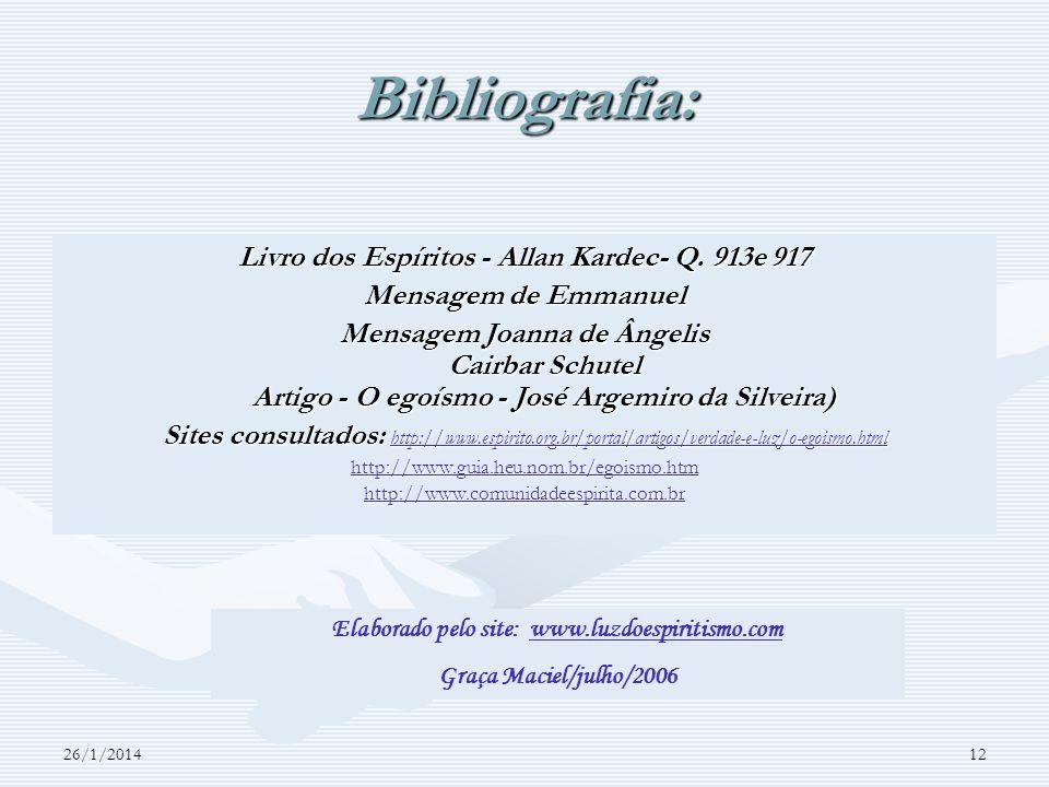 Livro dos Espíritos - Allan Kardec- Q. 913e 917