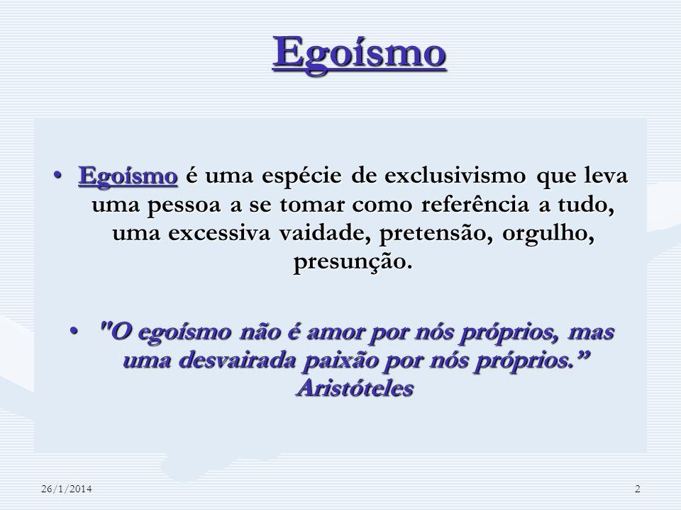 Egoísmo