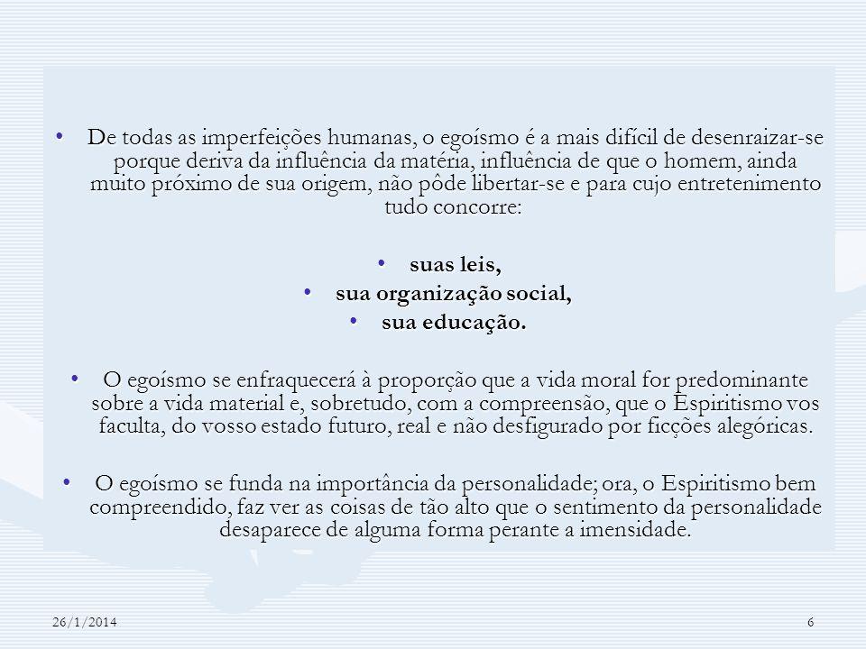 sua organização social,