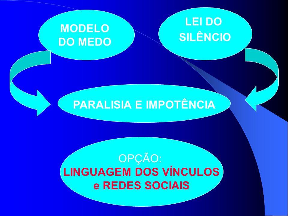 LEI DO SILÊNCIO MODELO e REDES SOCIAIS