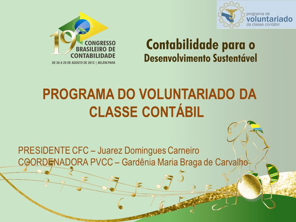 PROGRAMA DO VOLUNTARIADO DA CLASSE CONTÁBIL