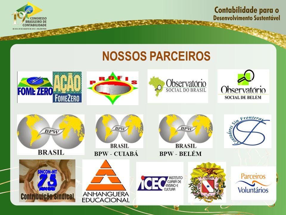 NOSSOS PARCEIROS BPW - CUIABÁ BPW - BELÉM
