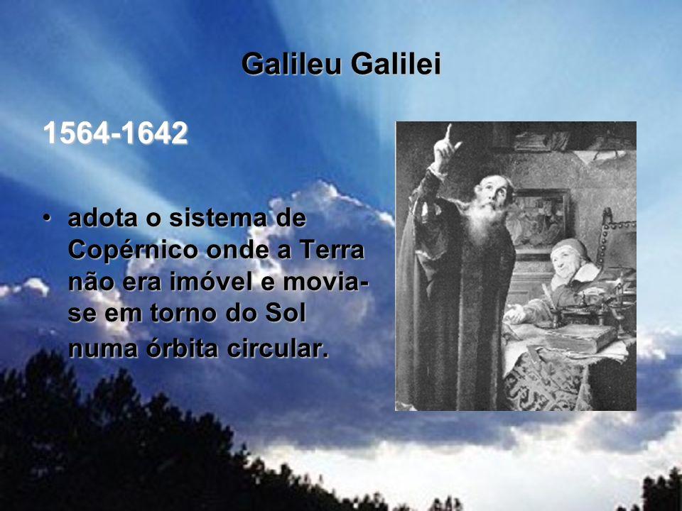Galileu Galilei 1564-1642.