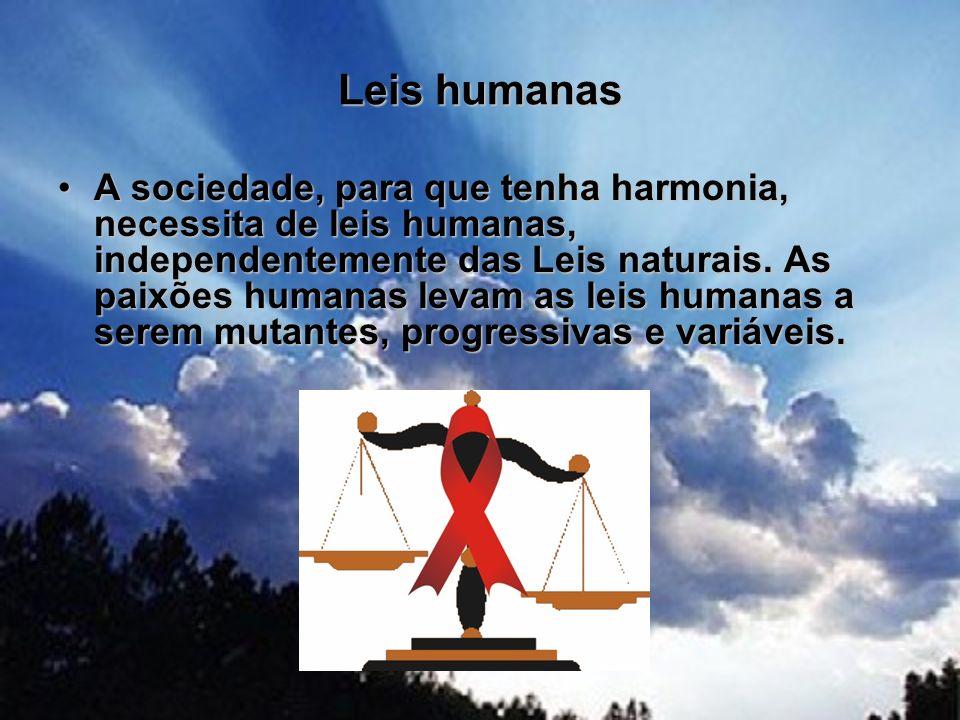 Leis humanas