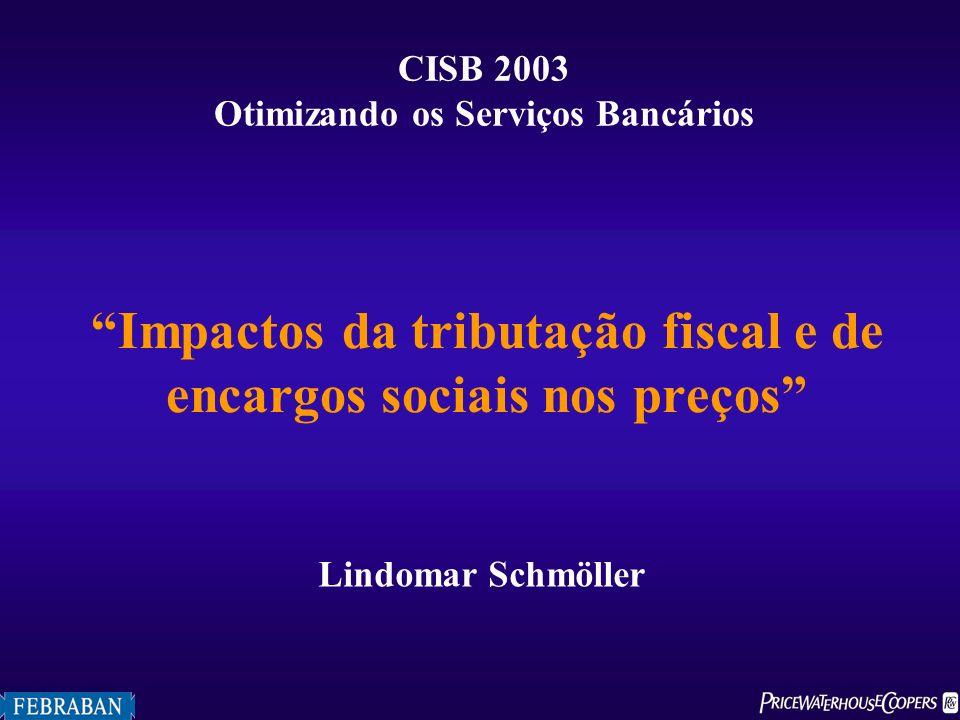 Impactos da tributação fiscal e de encargos sociais nos preços