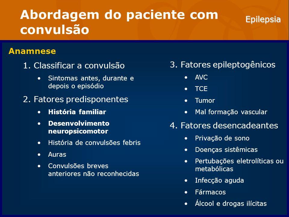 Abordagem do paciente com convulsão