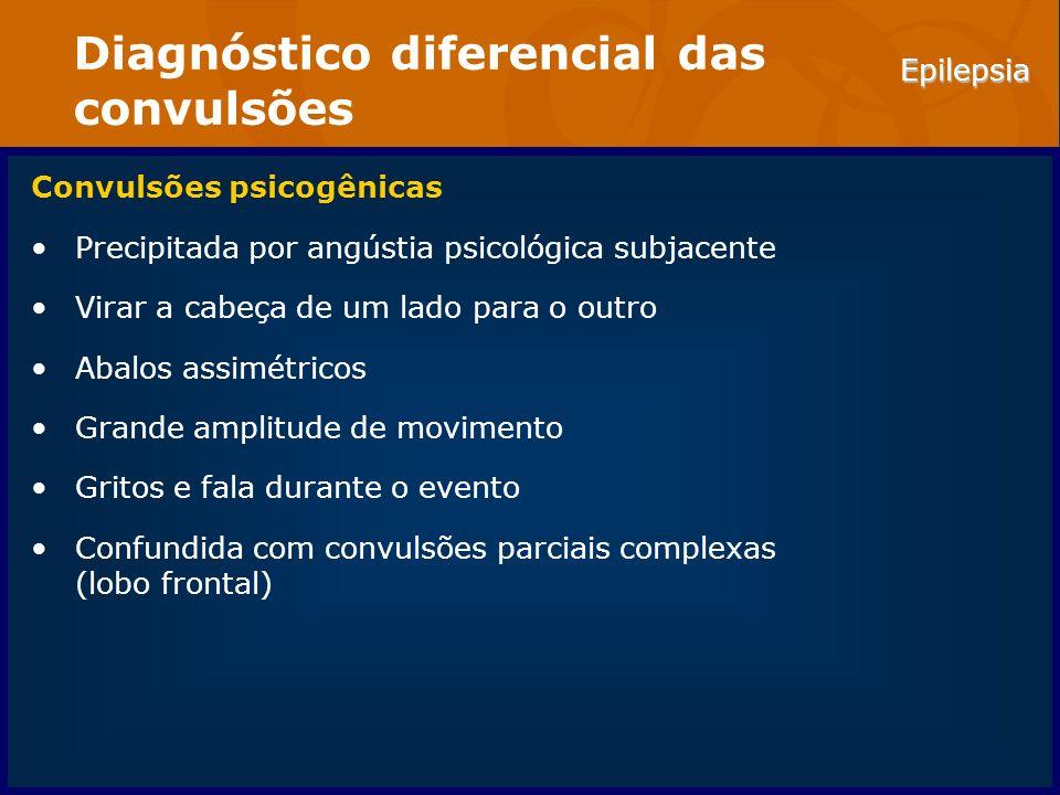 Diagnóstico diferencial das convulsões
