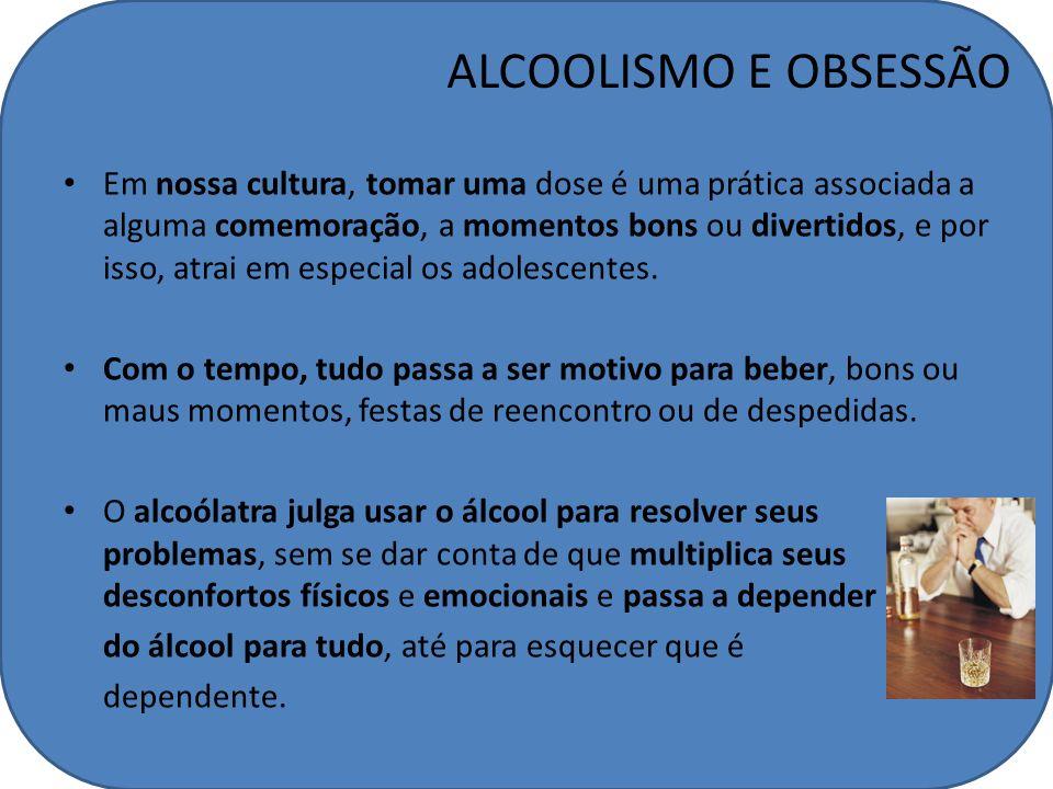 ALCOOLISMO E OBSESSÃO