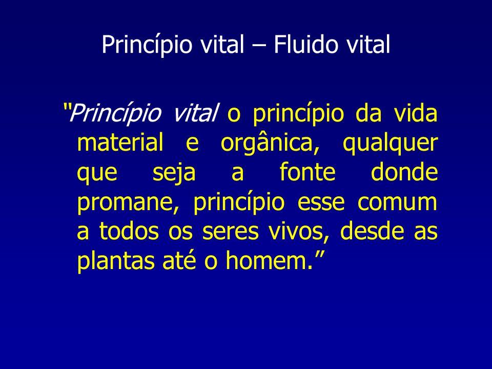 Princípio vital – Fluido vital