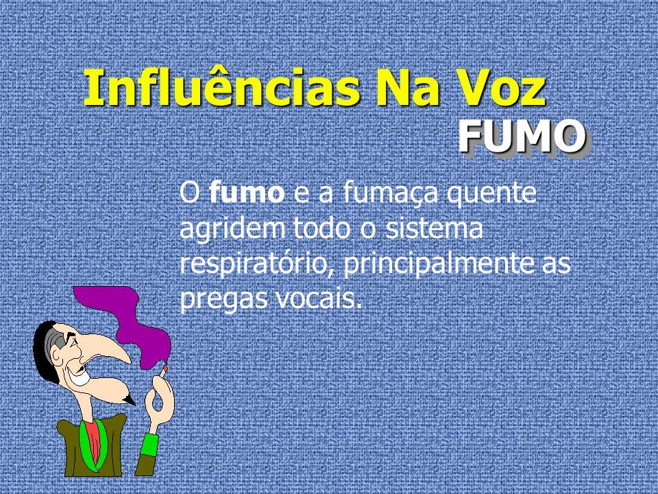 Influências Na Voz FUMO
