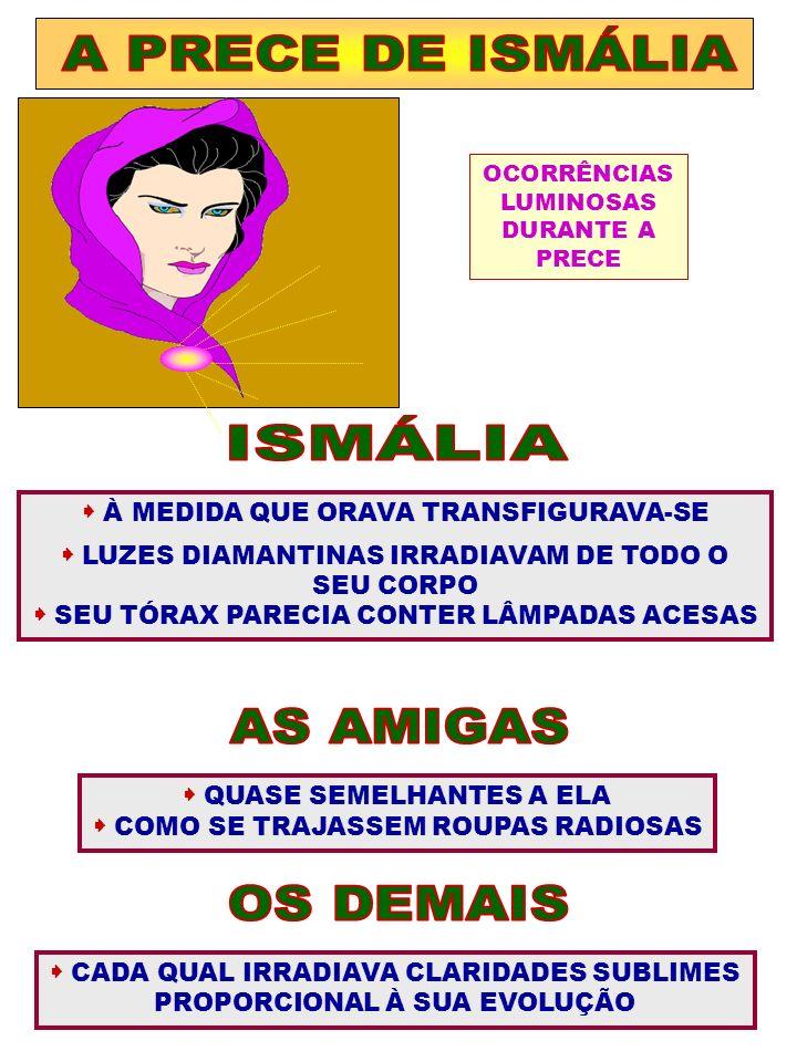 A PRECE DE ISMÁLIA ISMÁLIA AS AMIGAS OS DEMAIS