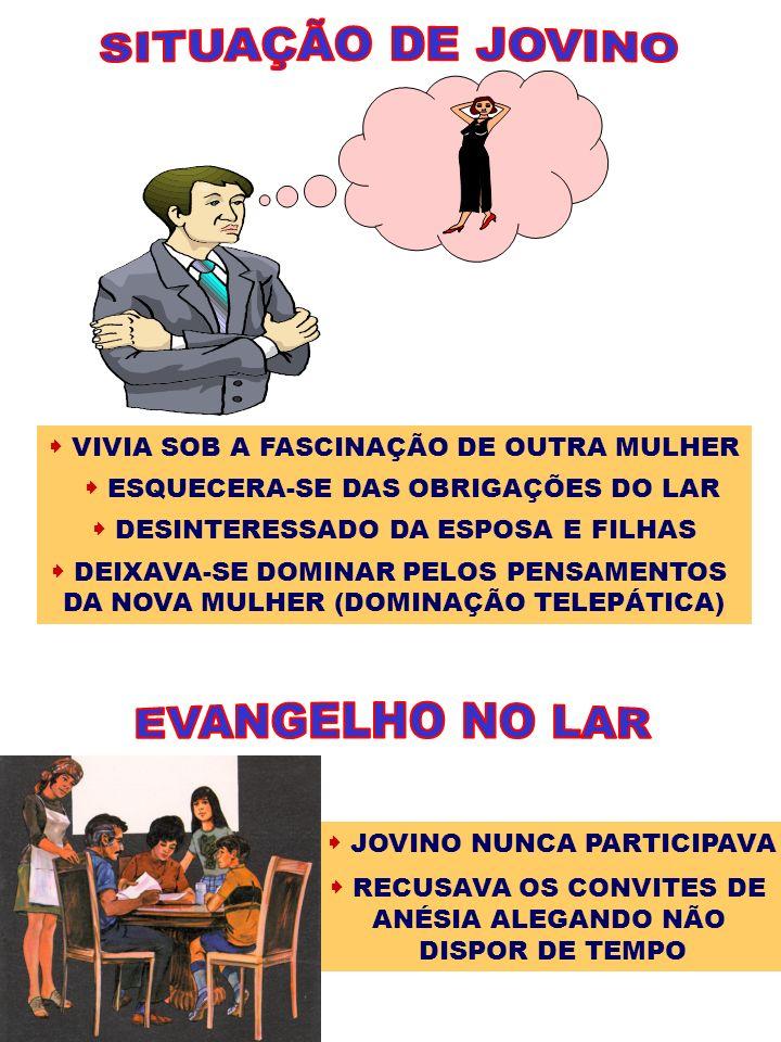 SITUAÇÃO DE JOVINO EVANGELHO NO LAR