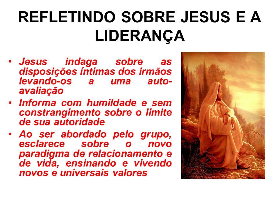 REFLETINDO SOBRE JESUS E A LIDERANÇA