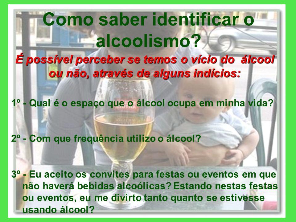 Como saber identificar o alcoolismo