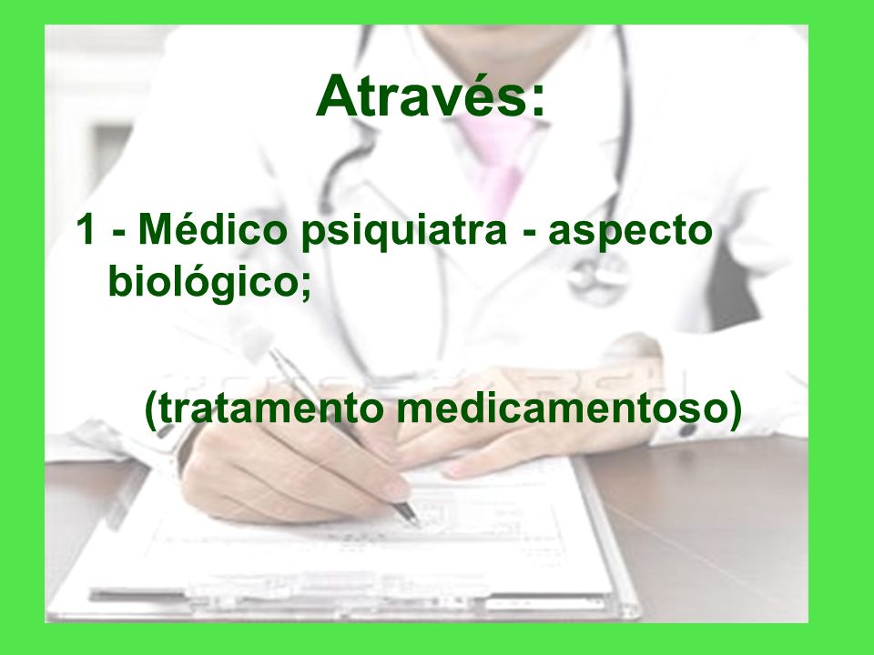 (tratamento medicamentoso)