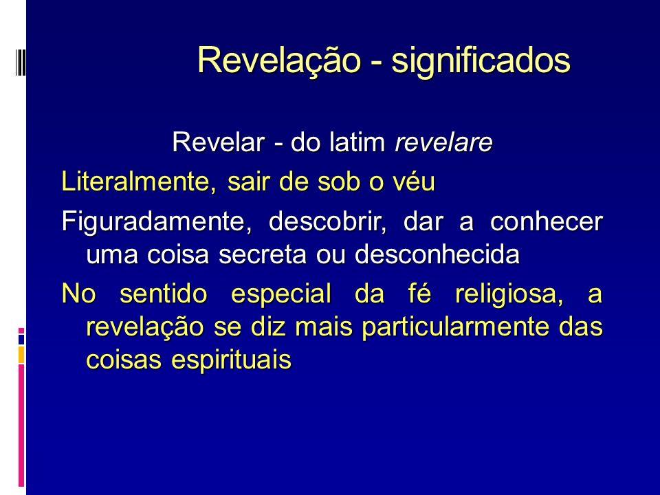 Revelação - significados