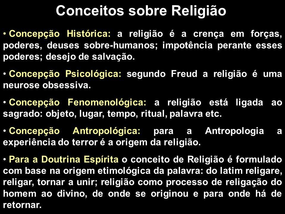 Conceitos sobre Religião