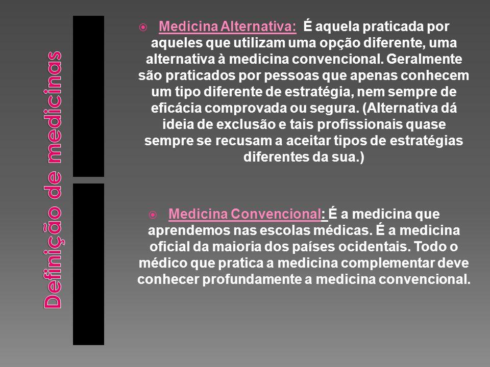 Definição de medicinas